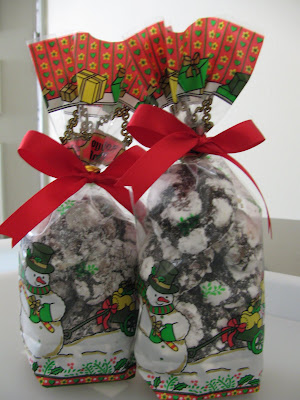 Purple Kisses Christmas Package Crinkles With The Snowman