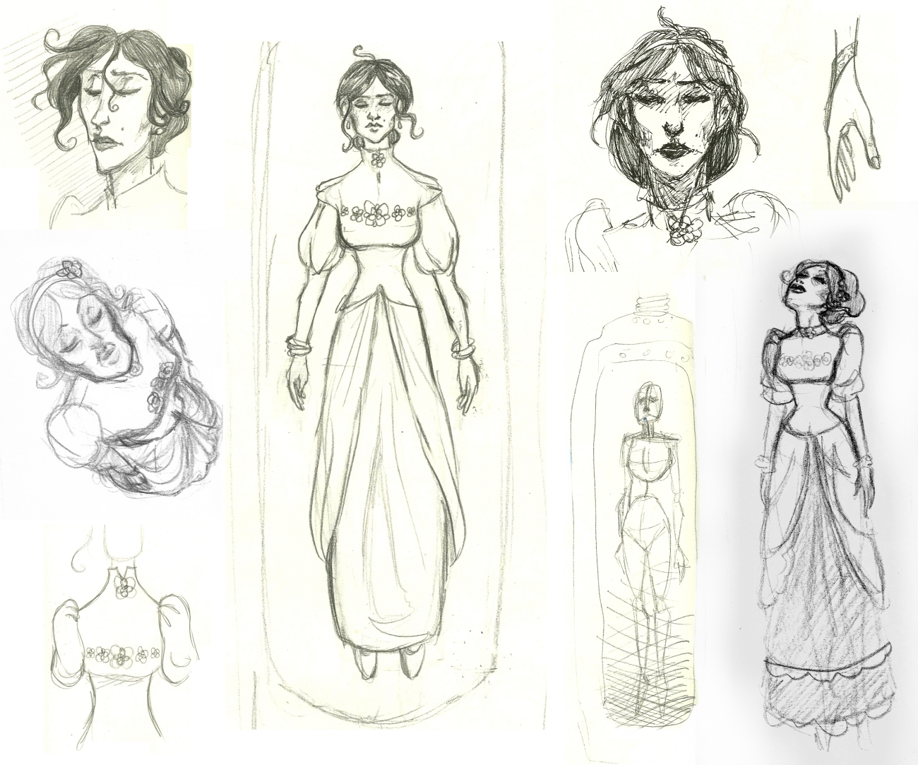 Character Design Essay : Distract with pen and paper character design