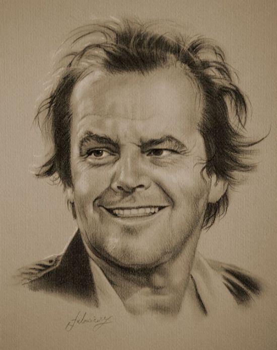 Lukisan potret bintang hollywood [18 g@f]