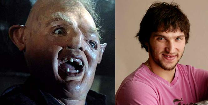 Sloth's appearance. The goonies retard