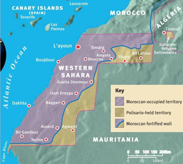 Western Sahara The United States Senate and McDonalds GeoCurrents
