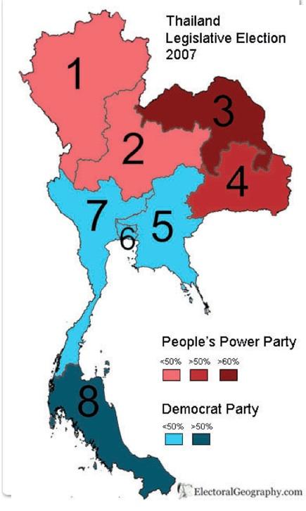 Region Religion And Redshirts In Thailand GeoCurrents - Thailand religion