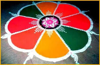rangoli design easy