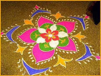 great rangoli design