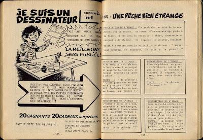scénario tabary je suis un dessinateur vacheries de corinne à jeannot
