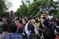 Aksi di Kejati Banten