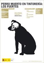 Cartel de Perro muerto en tintorería