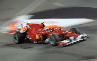 F1: G. P. de Singapur 2010. El mundial se pone calentito
