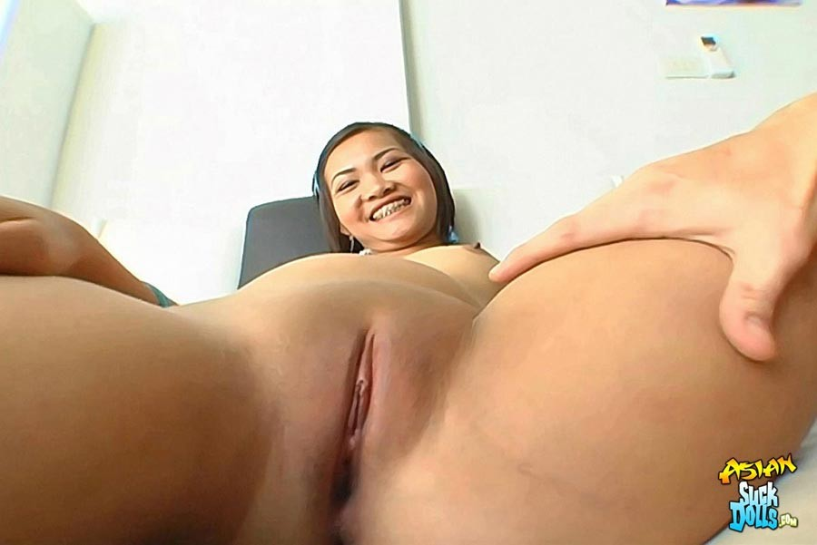Shaved asian pussy in latex gallery+free