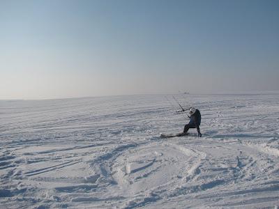 Kajt-narciarz. fot. Paweł