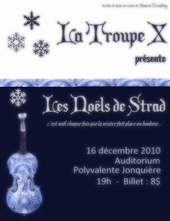 Les Noëls de Strad dans Théâtre strad