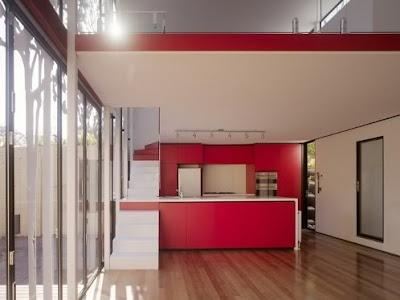 Living in designland escalera sobre encimera for Escalera cocina