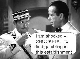 Shocked shocked to find gambling at this establishment aquarius casino resort laughlin nevada