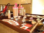 maquiagem toillet feminino