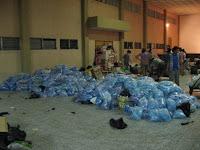 Ayuda a los afectados de La Unión, Zacapa - foto: Rev. Miguel Torneire (24/07/08)