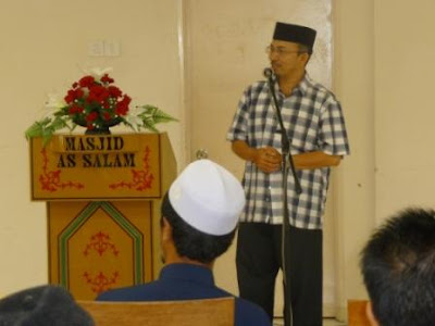 Tazkirah Nazir As-Salam di Majlis Sambutan Maulidul Rasul oleh