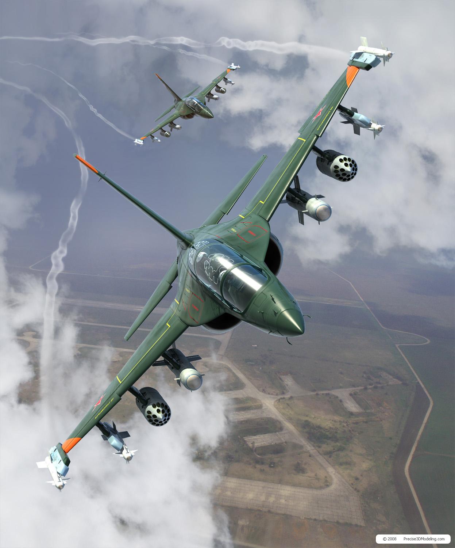 Paraguai interessado em adquirir lote dos jatos de ataque russo Yak-130