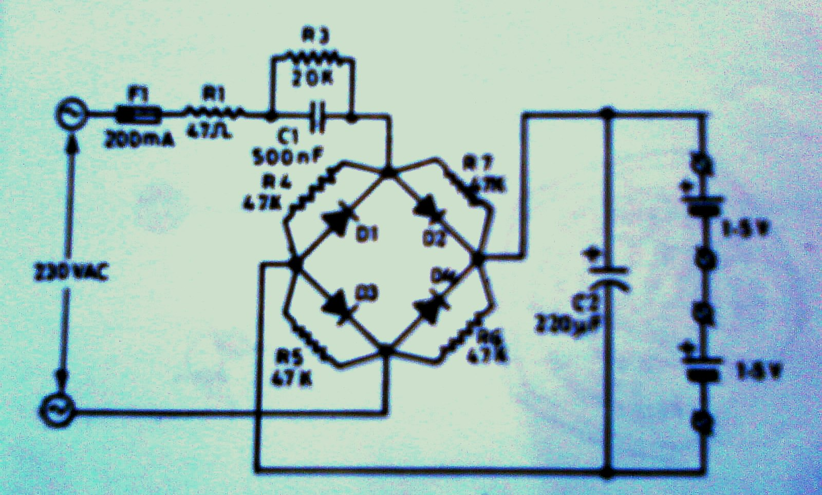 Huzoonline 2010 Figure 1 Tda2050 Typical Hifi Amplifier Schematic The Austere Ni Cad Cell Charger