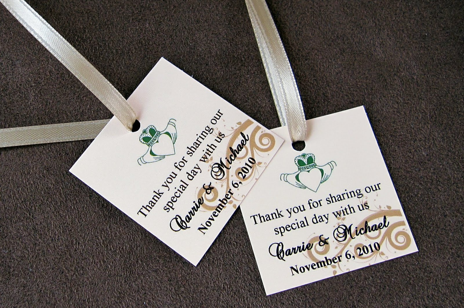 Scrapping Innovations: Carrie and Michael\'s Wedding Bookmarks and ...