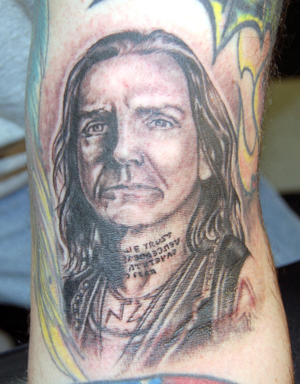 "Fink) by Richie ""Pan"" Panarra - Dark Star Tattoos In Tom's River, NJ."