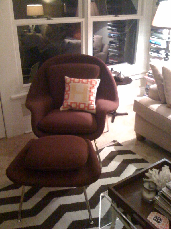 The gimlet eye womb status - Womb chair knock off ...