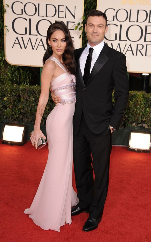 Megan Fox Golden Globes 2011 Makeup. Megan Fox 2011 Golden Globes
