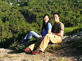 Keith & Karen at Camden Hills (Maine)