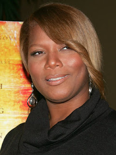 Queen Latifah Big Swoop Haircut