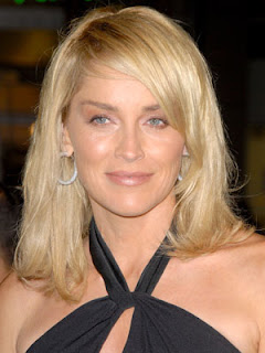 Sharon Stone Hairstyle's Pic