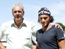 Significativa visita a Rivera del ex-futbolista Darío Silva