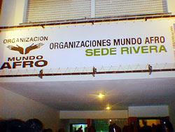 Sede de Mundo Afro Rivera