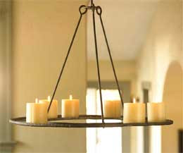 Venetian Umbrella Wrap Around Candle Stand $24 each/ 3 for $18 each