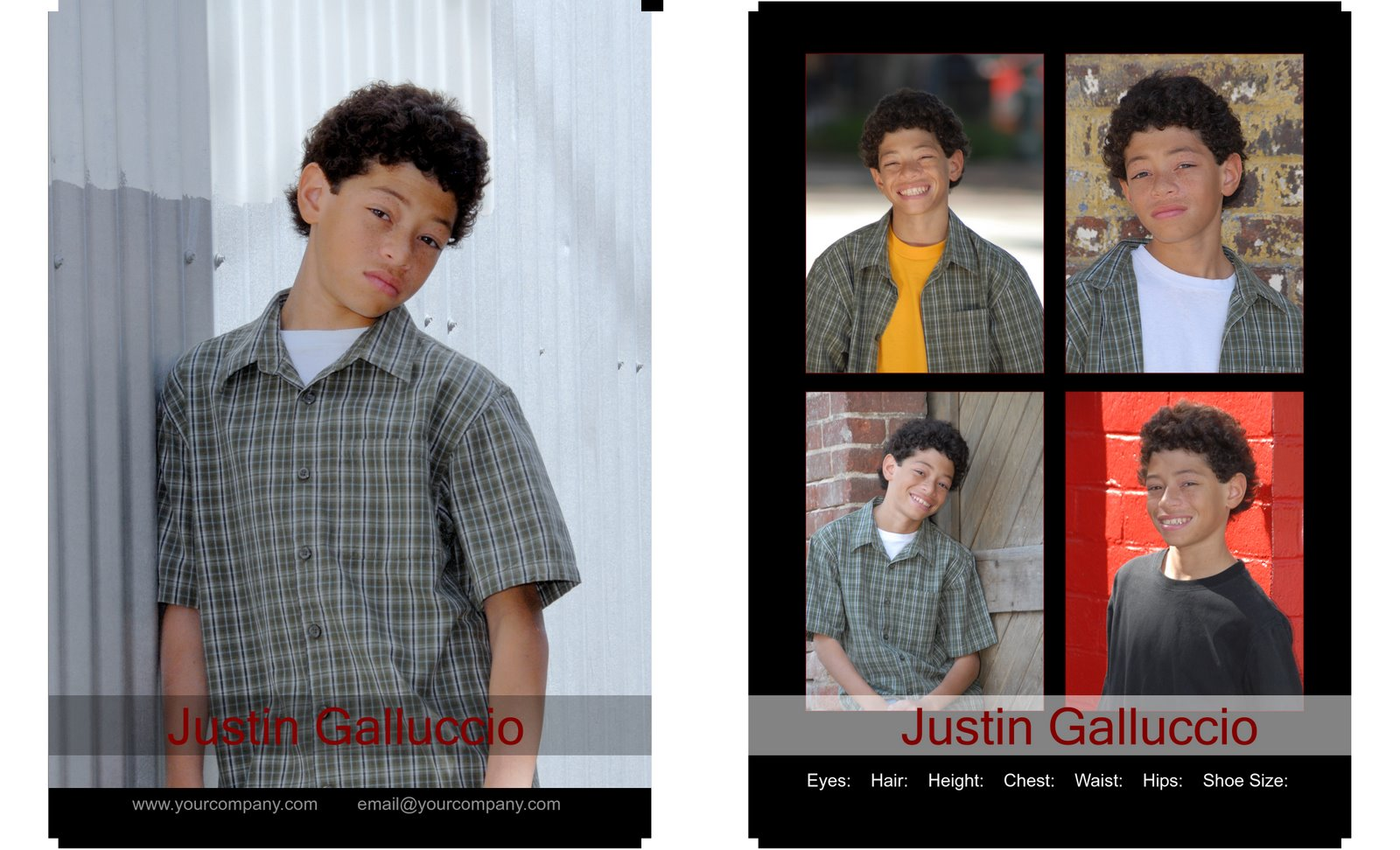Lou daigle photography great z card example for child actor great program to make any custom album or any type of design you may need from business cards to calendars to wedding albums magicingreecefo Choice Image