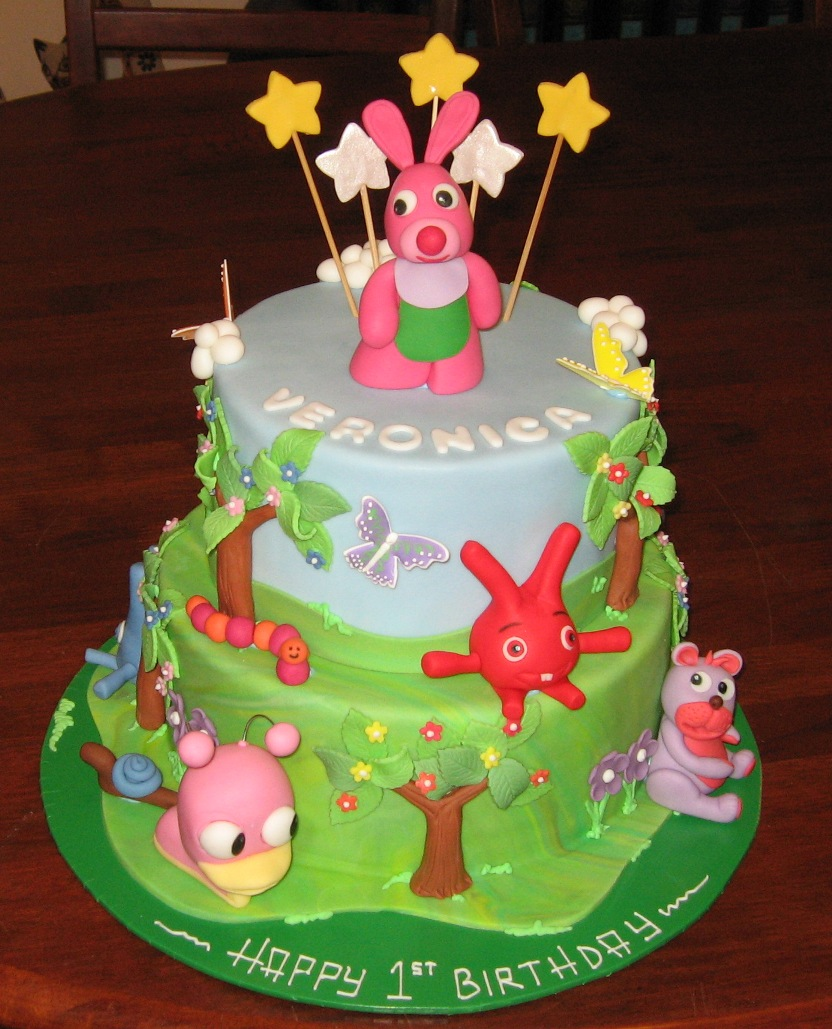 Let Them Eat Cake Baby tv 3D cake