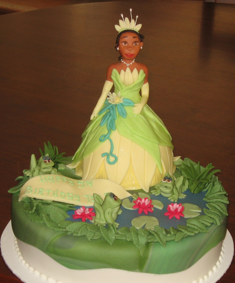 Princess Tiana Cake Images : Let Them Eat Cake: Princess Tiana from Princess & the Frog