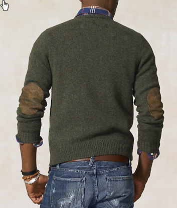 Patch Crewneck Sweater