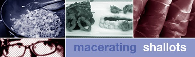 macerating shallots