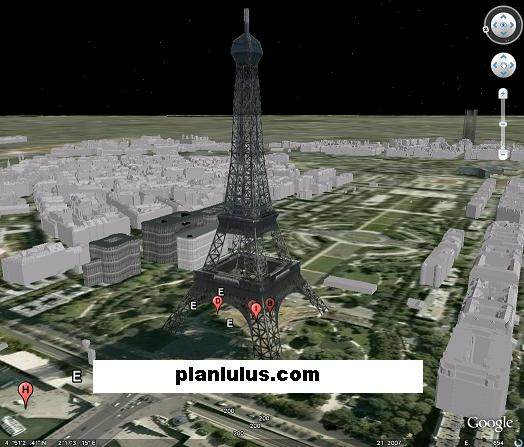 My Google Earth - 3D Architecture