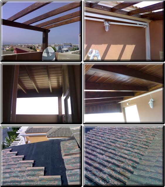Mqmadera interiores en santa pola elche alicante reformas - Madera para techos interiores ...