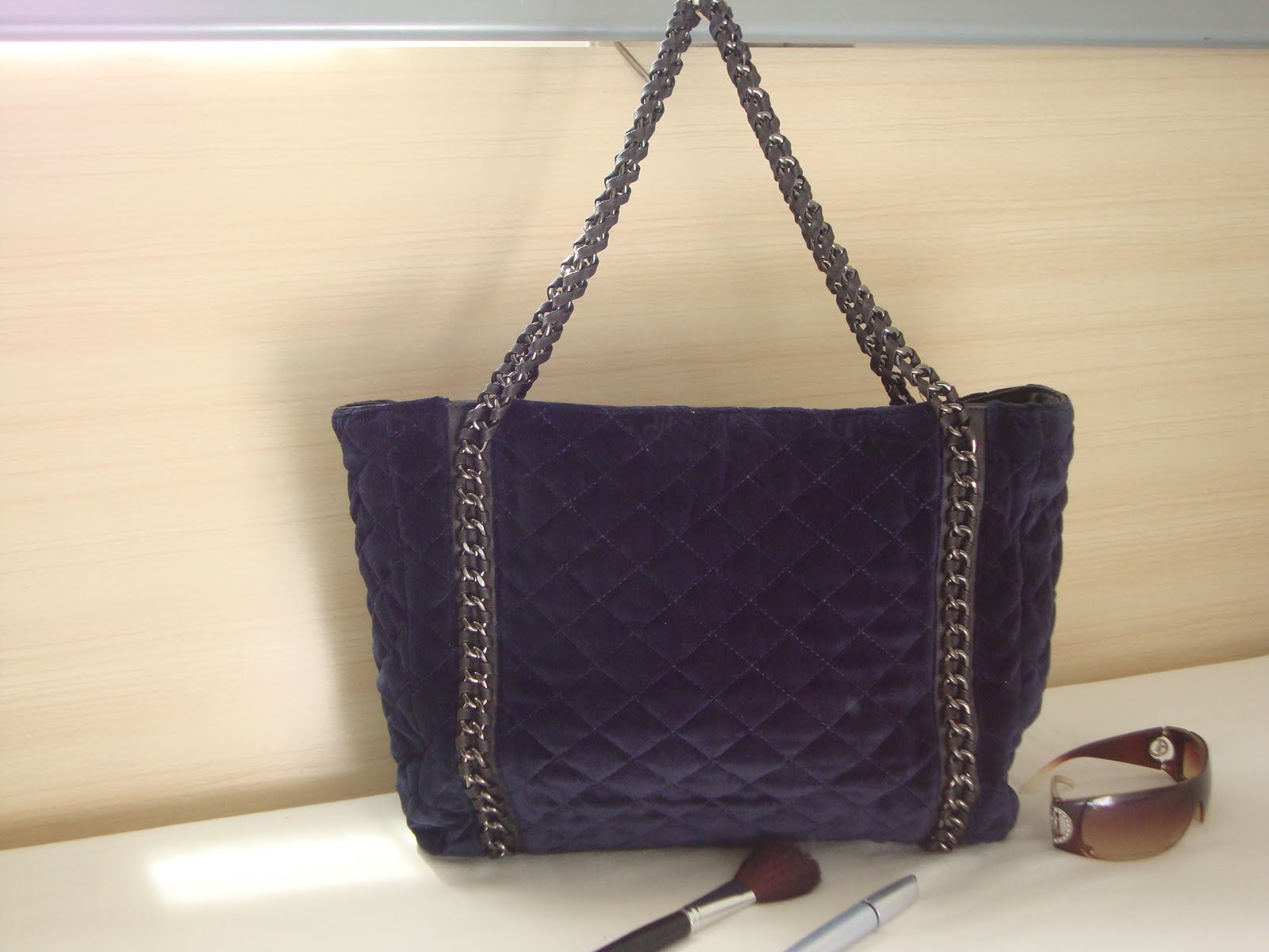 Bolsa Feminina Azul Marinho : Bolsas moda feminina bolsa no azul marinho