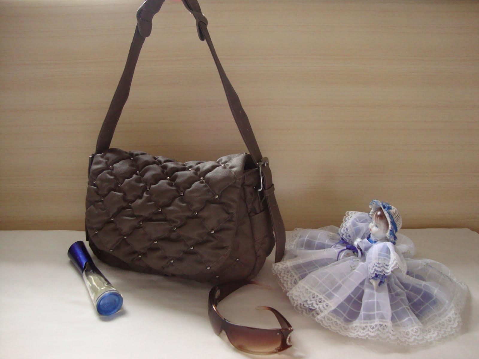 Bolsa Feminina Na Cor Azul : Bolsas moda feminina bolsa na cor caf?