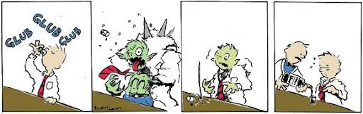 tirinha cachaça dr. jekyll mr. hyde
