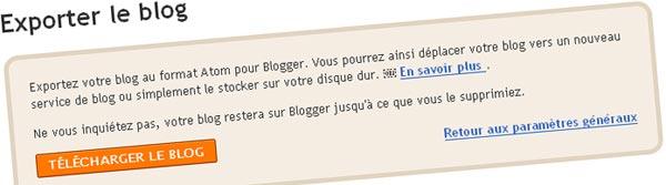 Exporter Blogspot