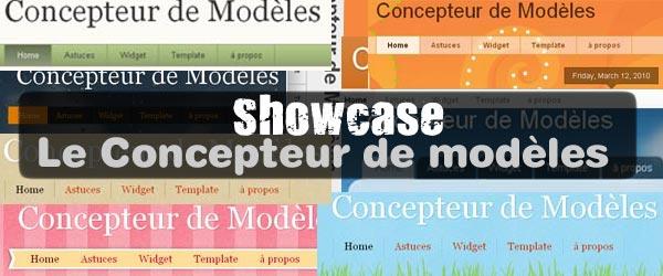 Outil création de modèles