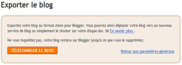 Thème Blogger