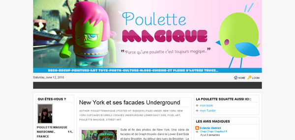 Poulette-Magique