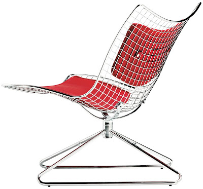 Meganet Lounge Chair By Paolo Chiantini & Gualtiero Sacchi