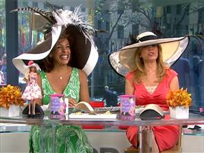 Kentucky Derby Hats on Good Morning America Anchors