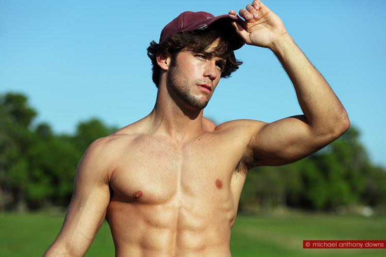 Los Ojos del Espectador: Nick Ayler sexy model