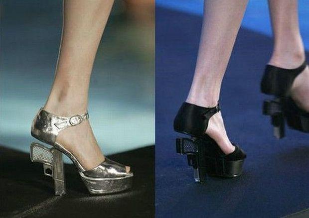 Gun Heel Shoes For Sale